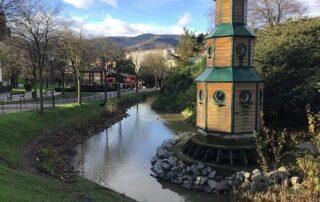 El parque Europa, un entorno natural y libre de plagas en Bilbao