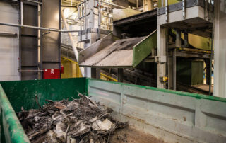 La planta de reciclaje de residuos de Bilbao plagada de ratas